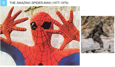 spiderman bigfoot
