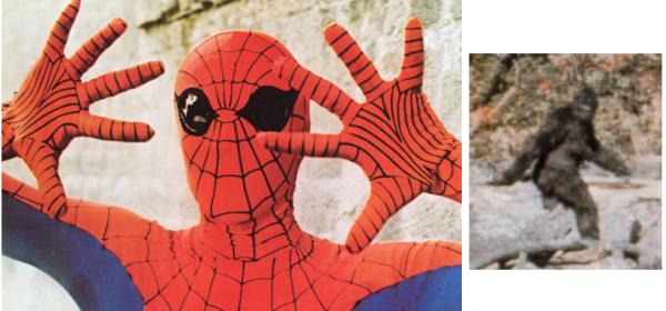 spiderman bigfoot