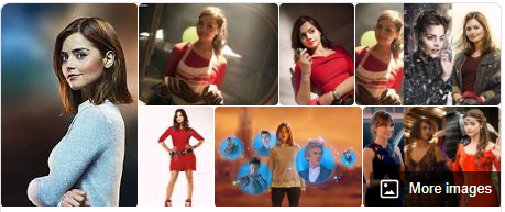 clara oswald. jenna coleman. google search, various sources.
